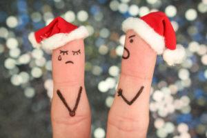 Beziehungsstreit Weihnachtszeit