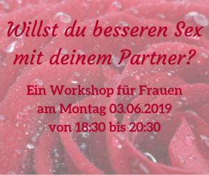 Workshop - finde deine Lust! 1