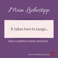 Es gehören immer zwei dazu, damit Beziehung gelingt!