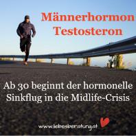Das Männerhormon Testosteron – ab 30 geht's bergab