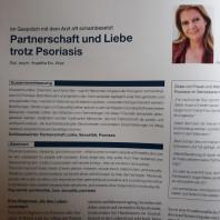 """Artikel """"Partnerschaft und Liebe trotz Psoriasis"""" als Download"""